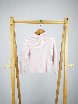 George pink roll neck sweater 2-3 years