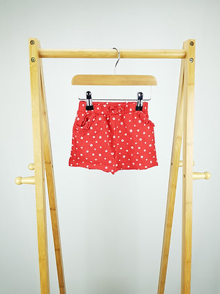 George red floral shorts 12-18 months