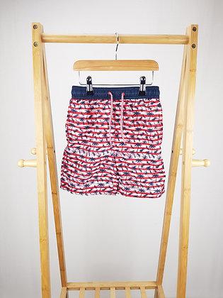 George palm print shorts 5-6 years