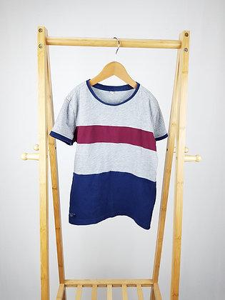 M&S colour block t-shirt 7-8 years