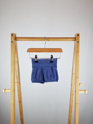 H&M blue shorts 1-2 months
