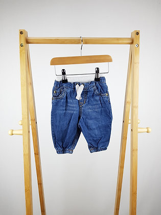 F&F lined jeans 3-6 months