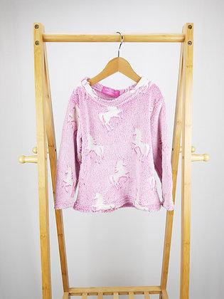 Glow in the dark pink unicorn jumper 4-5 years