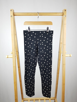 H&M heart print joggers 7-8 years