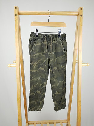 George camouflage trousers 4-5 years