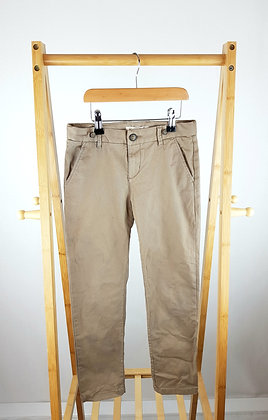 H&M brown trousers 9-10 years