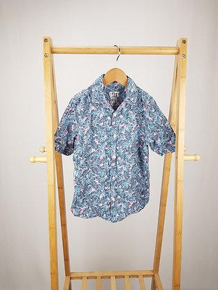 F&F tropical short sleeve shirt 6-7 years