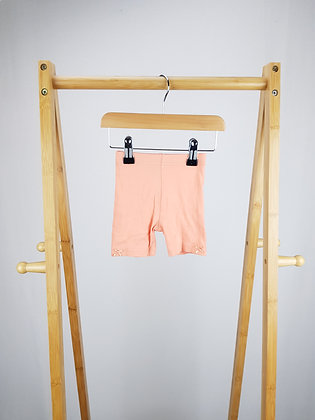 George coral shorts 0-3 months