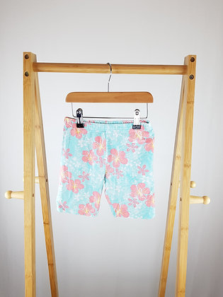 George floral shorts 8-9 years