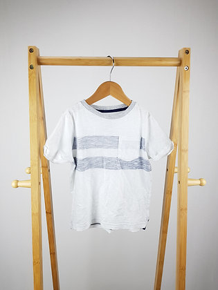 F&F white t-shirt 3-4 years