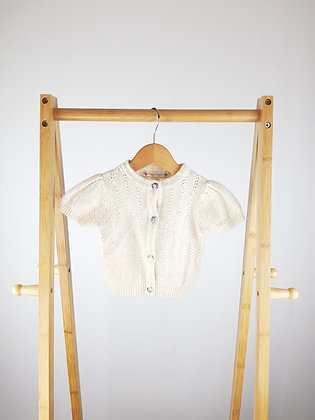 Molly & Jack wool mix knitted cardigan 9-12 months