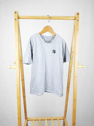 River Island grey t-shirt 7-8 years