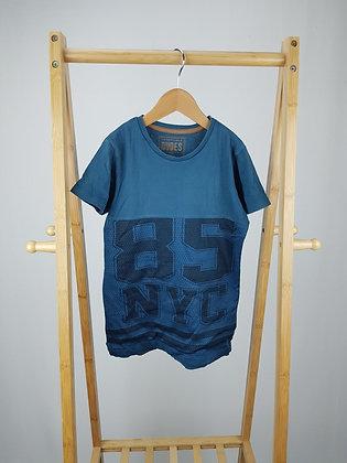 Matalan teal t-shirt 7 years