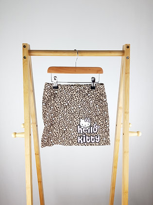 H&M Hello Kitty leopard skirt 6-7 years