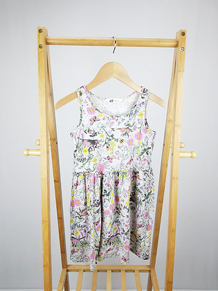 H&M floral dress 8-10 years