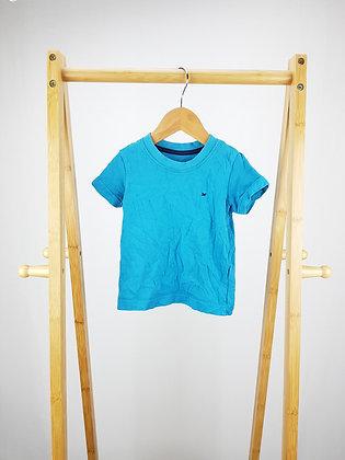 Matalan blue t-shirt 9-12 months