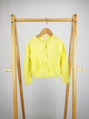 F&F yellow knitted cardigan 18-24 months