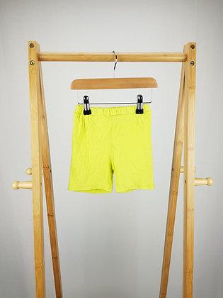 F&F green shorts 12-18 months
