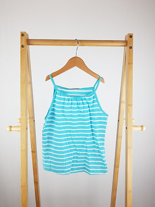 Matalan striped strappy top 7 years