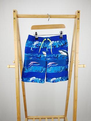 Bluezoo shark shorts 6-7 years