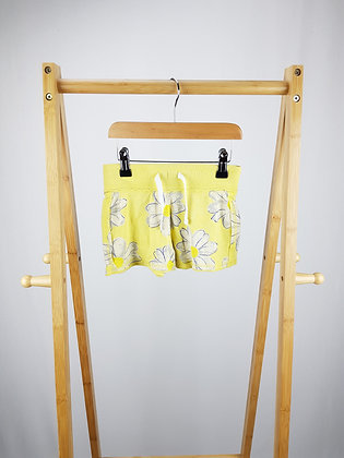 Next yellow floral shorts 4 years