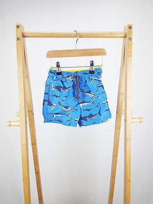 John Lewis sharks shorts 2 years