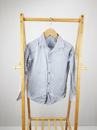 M&S pale blue shirt 9-10 years