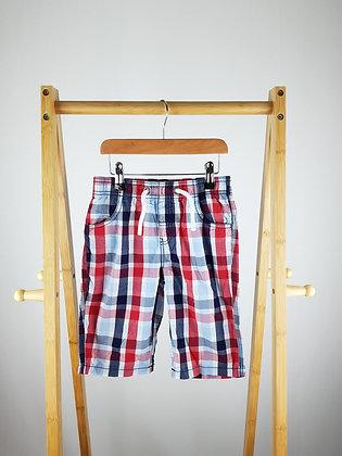 TU checked shorts 7 years