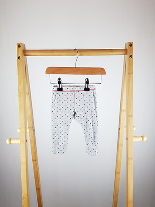 M&S star print bottoms 3-6 months