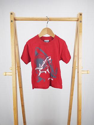 Impulse shark t-shirt 2 years