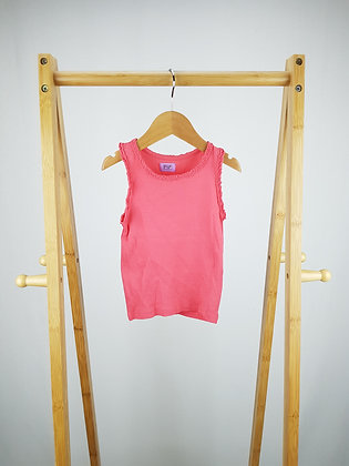F&F pink vest top 2-3 years