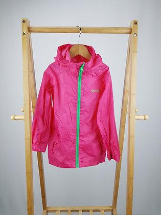 Regatta pink raincoat 3-4 years