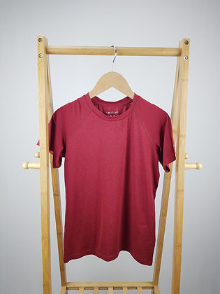 Matalan Souluxe red activewear t-shirt 10-11 years