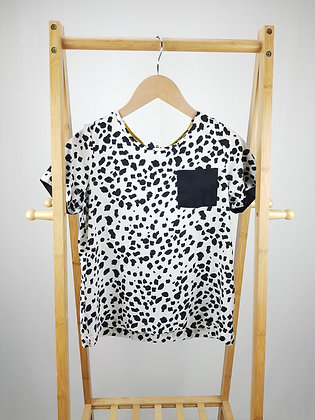 George Dalmatian print blouse top 13-14 years