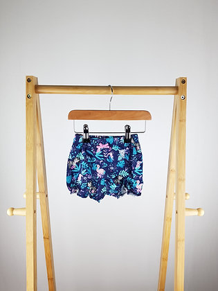 George floral shorts 6-9 months