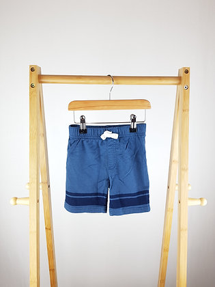 Carters blue shorts 3-4 years