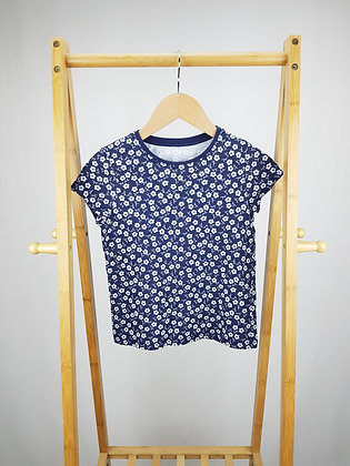 George floral t-shirt 7-8 years