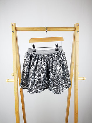 George silver sequin skirt 4-5 years