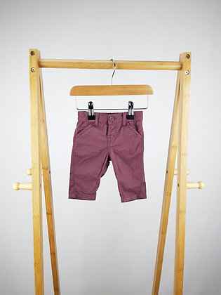 Matalan burgundy trousers newborn