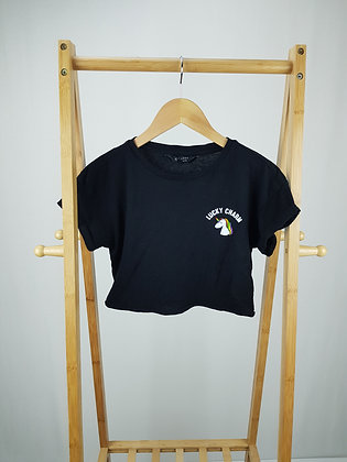 New Look lucky charm t-shirt 10-11 years