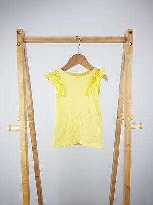 F&F yellow top 18-24 months