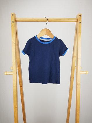 M&S blue t-shirt 12-18 months