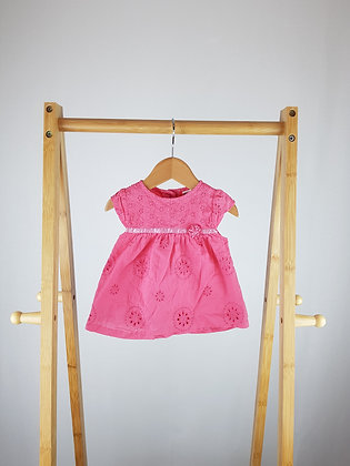 M&Co pink top 0-3 months