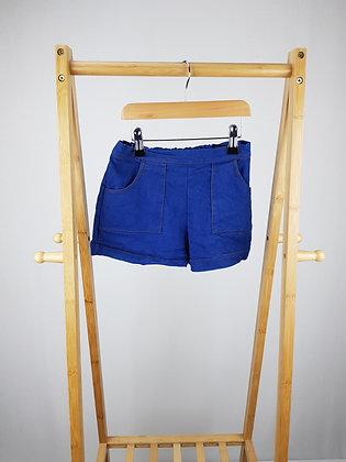 M&S denim shorts 7-8 years