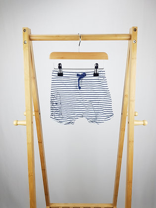 George striped bunny shorts 12-18 months