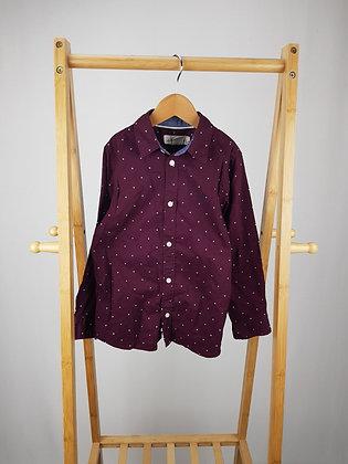 H&M star print long sleeve shirt 6-7 years