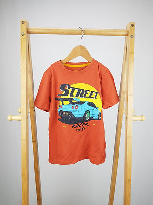 F&F street racer t-shirt 5-6 years