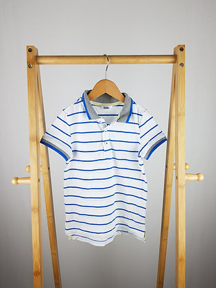 M&Co striped polo shirt 5-6 years