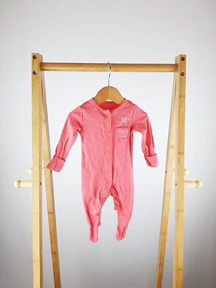F&F bunny sleepsuit up to 1 month