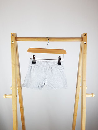 Disney baby grey shorts 9-12 months